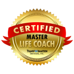 Certified Master Life Coach badge