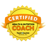 Health and Nutrition Coach Certification Badge